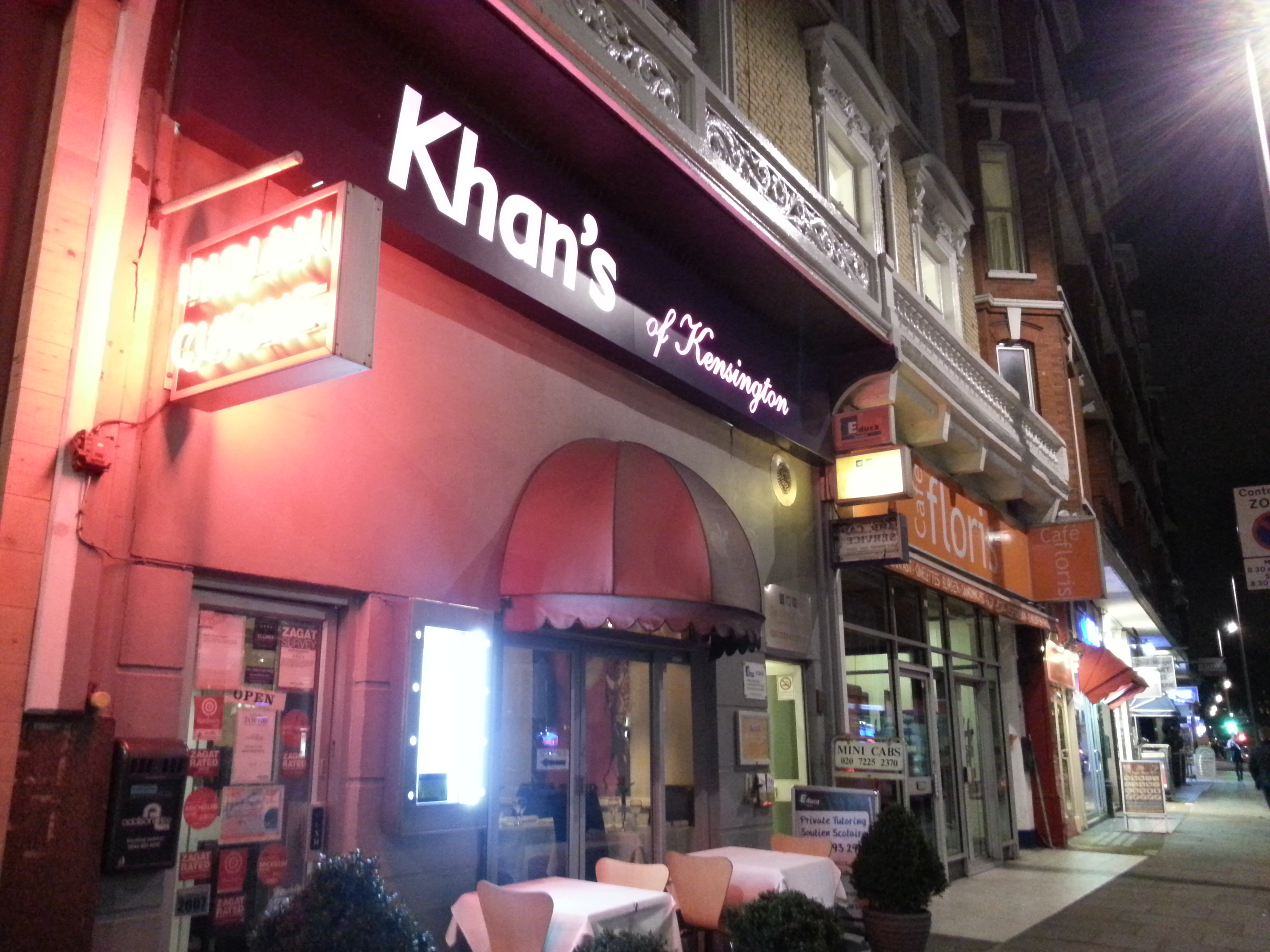 Khan Indian Restaurant South Kensington