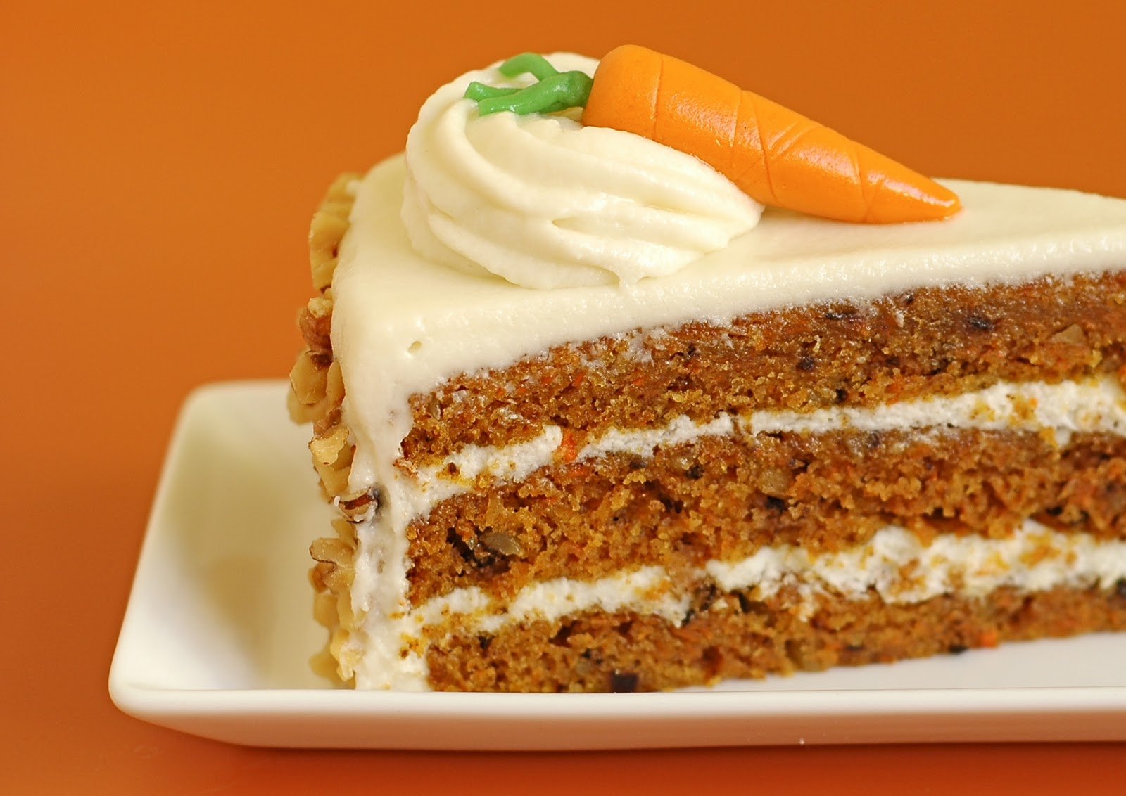 Icing Carrot Cake Glazed Carrots