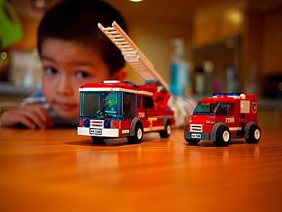 Cal's Lego firetrucks (small)