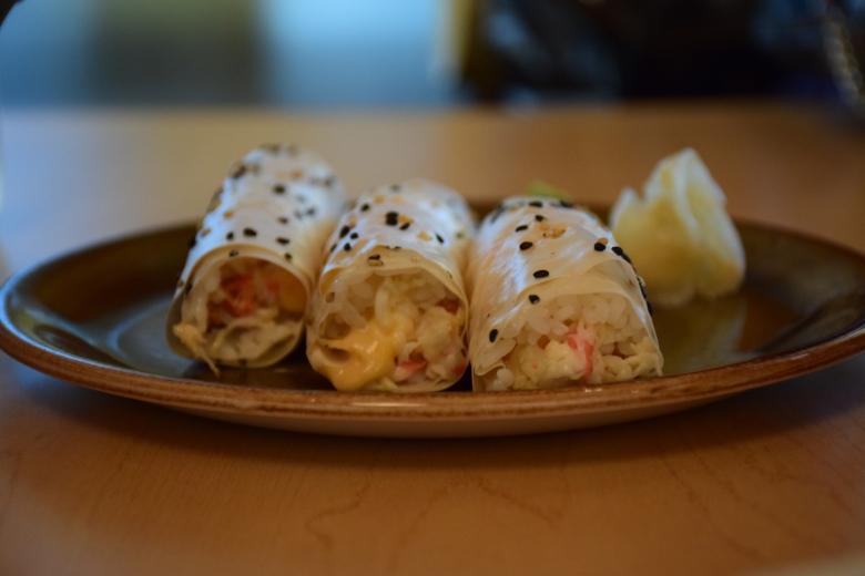 snow crab sushi