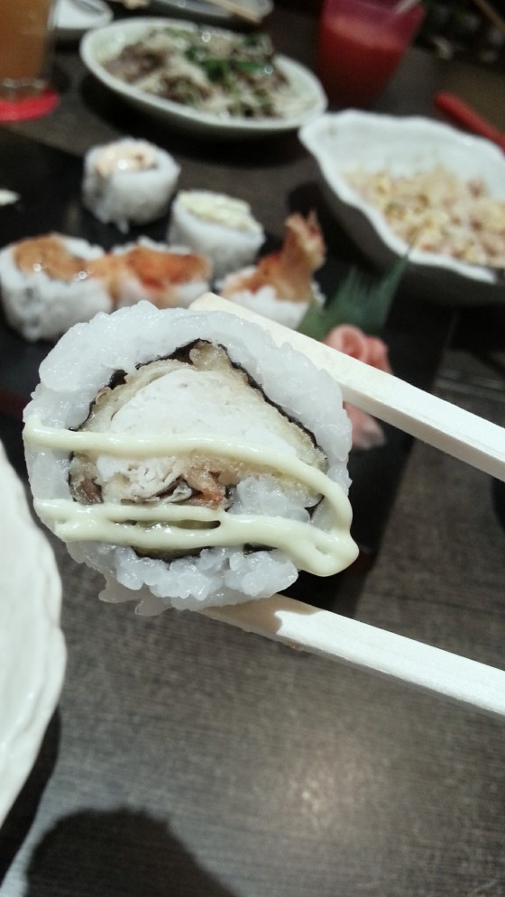 Soft shell crab rolls