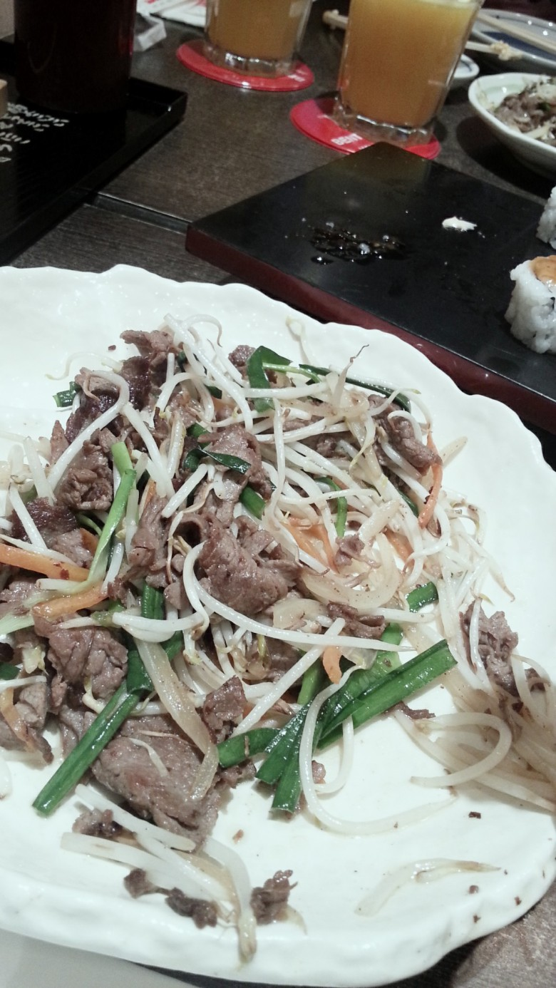 Beef Moyashe Itame