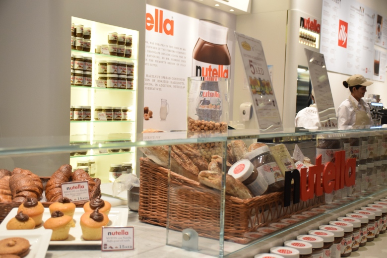 Nutella Bar Dubai