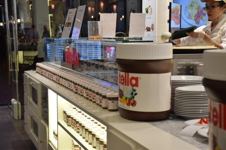 Nutella Bar Dubai