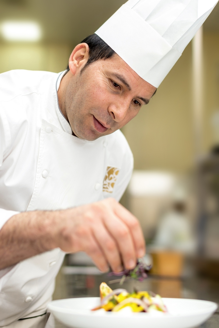 Chef in Ajman Palace hotel