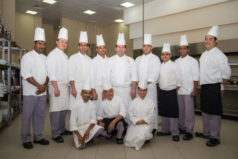 chefs in Ajman Palace hotel