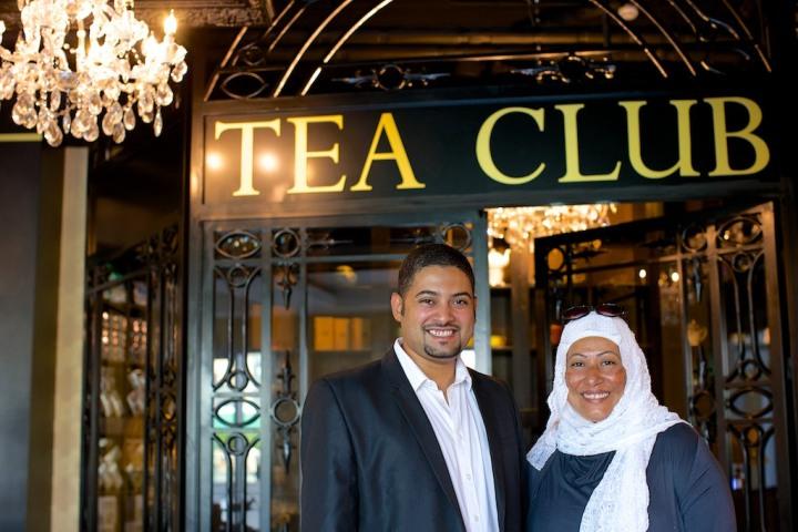 Fayadh Al Dosri and Naima Mattar