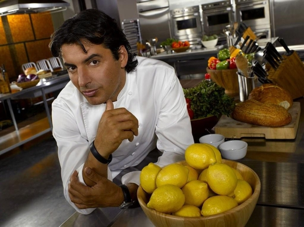 Celebrity chef Jean-Christophe Novelli